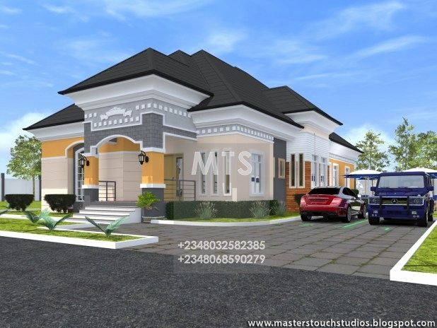 bungalow designs in nigeria 4 bedroom bungalow house design in rh pinterest com