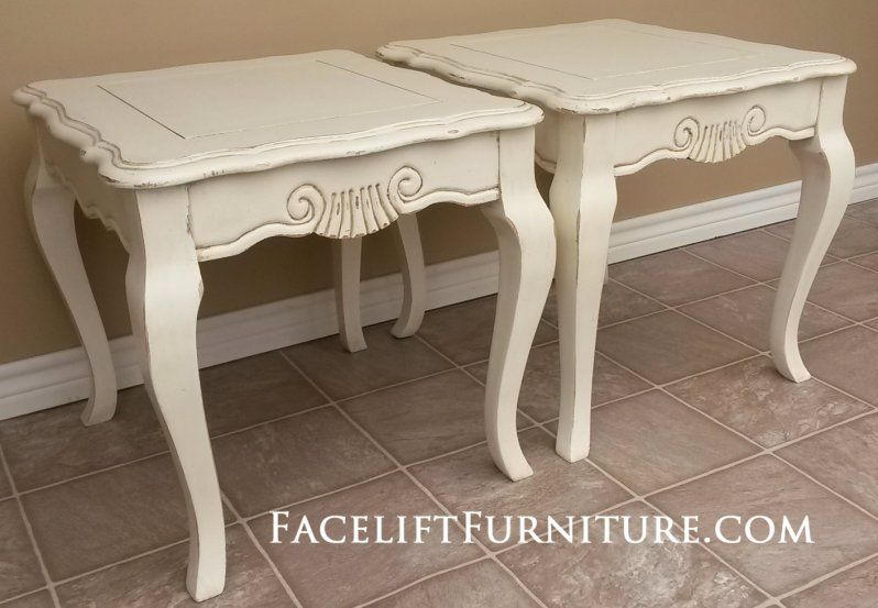 End Tables - Painted, Glazed & Distressed | French ...