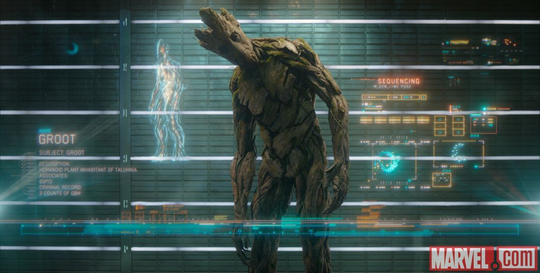 Groot in Marvel's Guardians of the Galaxy