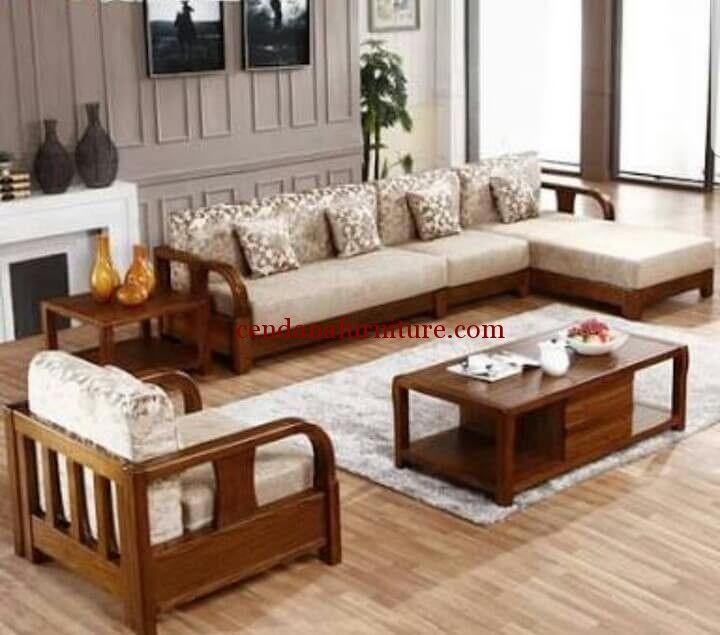 Kursi Sofa Ruang Tamu Modern Minimalis Tokyo Memiliki Tampilan Simple Dengan Design Modern Minimali Wooden Sofa Set Living Room Sofa Design Wooden Sofa Designs #sofa #set #design #for #living #room
