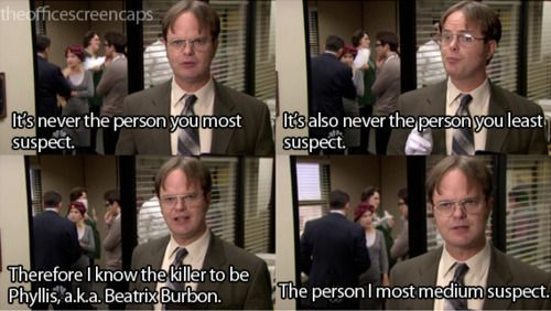 Pin By Chloe Nicole On Fascinating 0 The Office Dwight Office Quotes Dwight