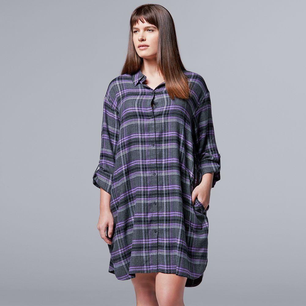 Simply Vera Vera Wang Plus Size Simply Vera Vera Wang Pajamas