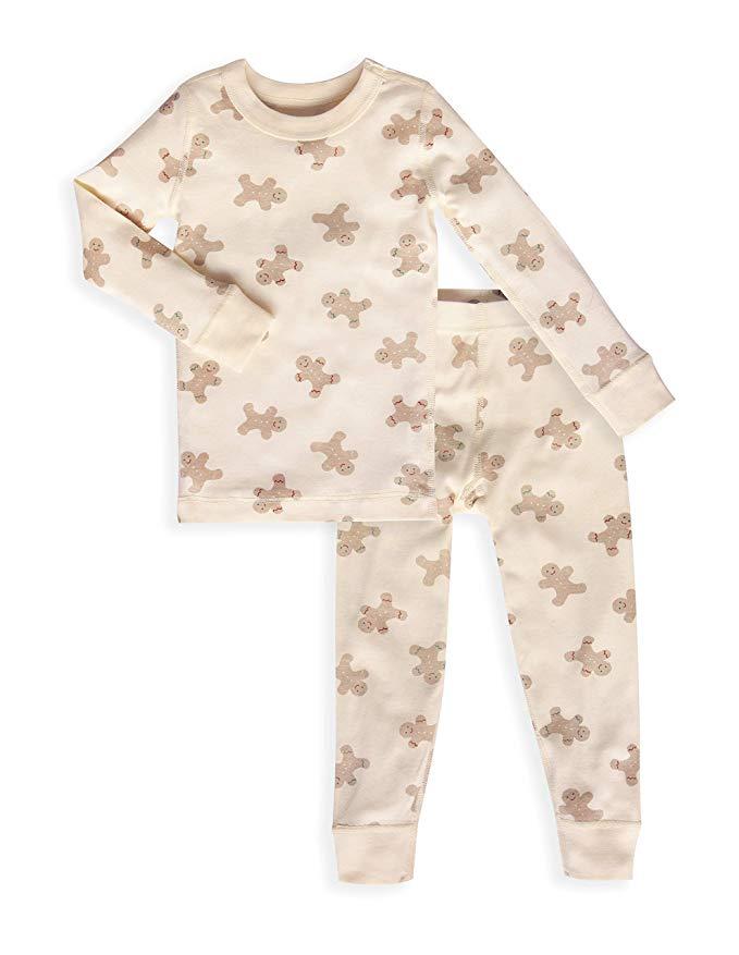 Skylar Luna Boys Long Sleeve Pajama Set GOTS Certified 100/% Soft Organic Turkish Cotton