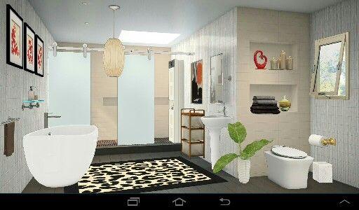 Bathroom Plumbing 101 Interior 3d interior design #homestyler bathroom | interior design 101.my
