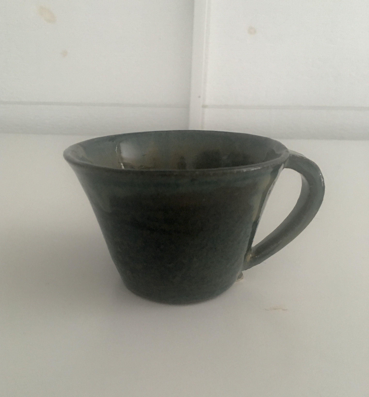 Espressokopp i stengods