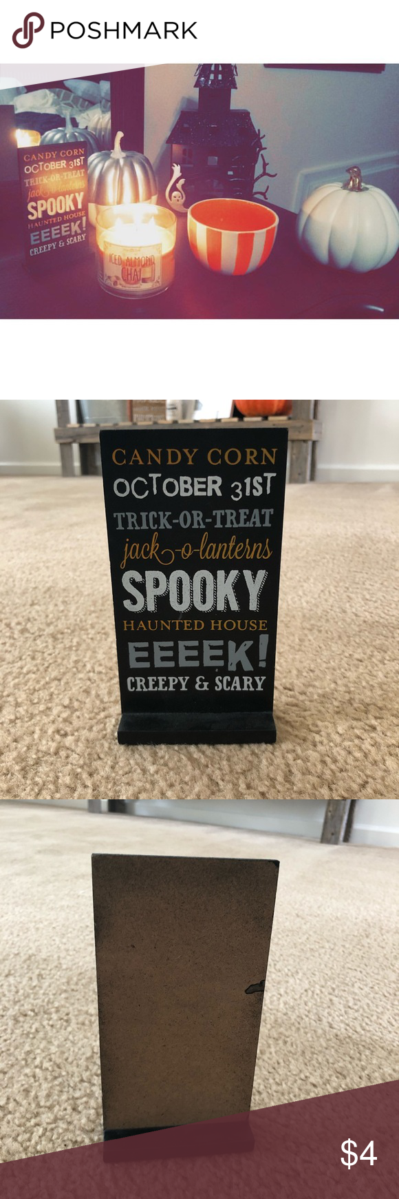 Halloween Decor Sign From Target in 2020 Target