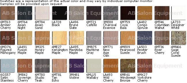 Wilsonart Laminate Colors Chart