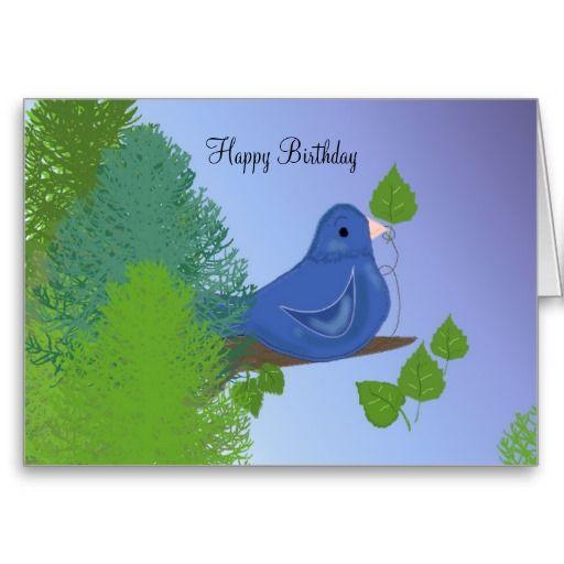 Blue bird birthday wishes card blue bird bird and birthdays order blue bird birthday wishes greeting card blue bird birthday wishes greeting card m4hsunfo Image collections