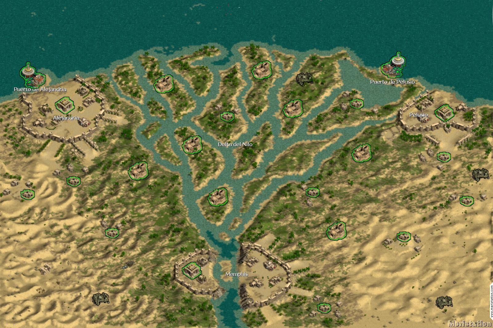Las Siete Bocas Del Nilo Lugares