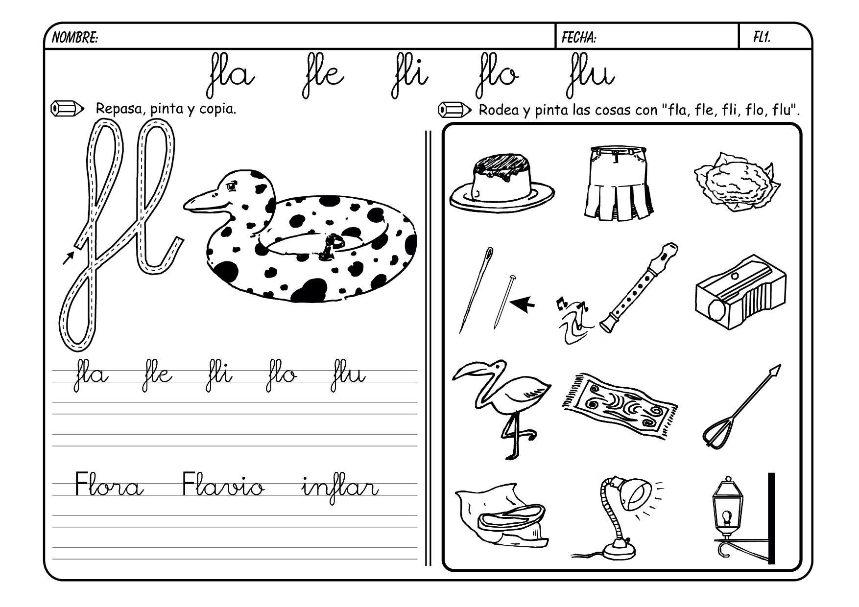 Dibujos Con La Trabada Br: Actividades Para Los Sinfones
