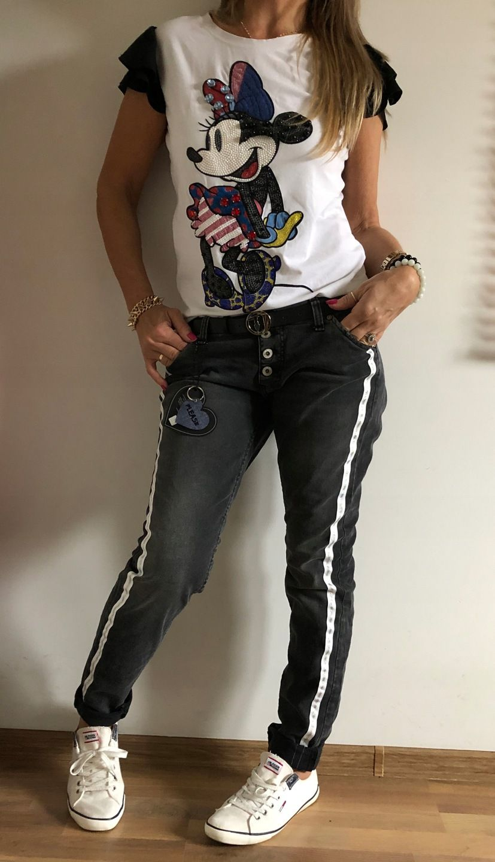 Spodnie Baggy Boyfriend Please Jeans Large Pas 41 7899546714 Oficjalne Archiwum Allegro Baggy Jeans Boyfriend