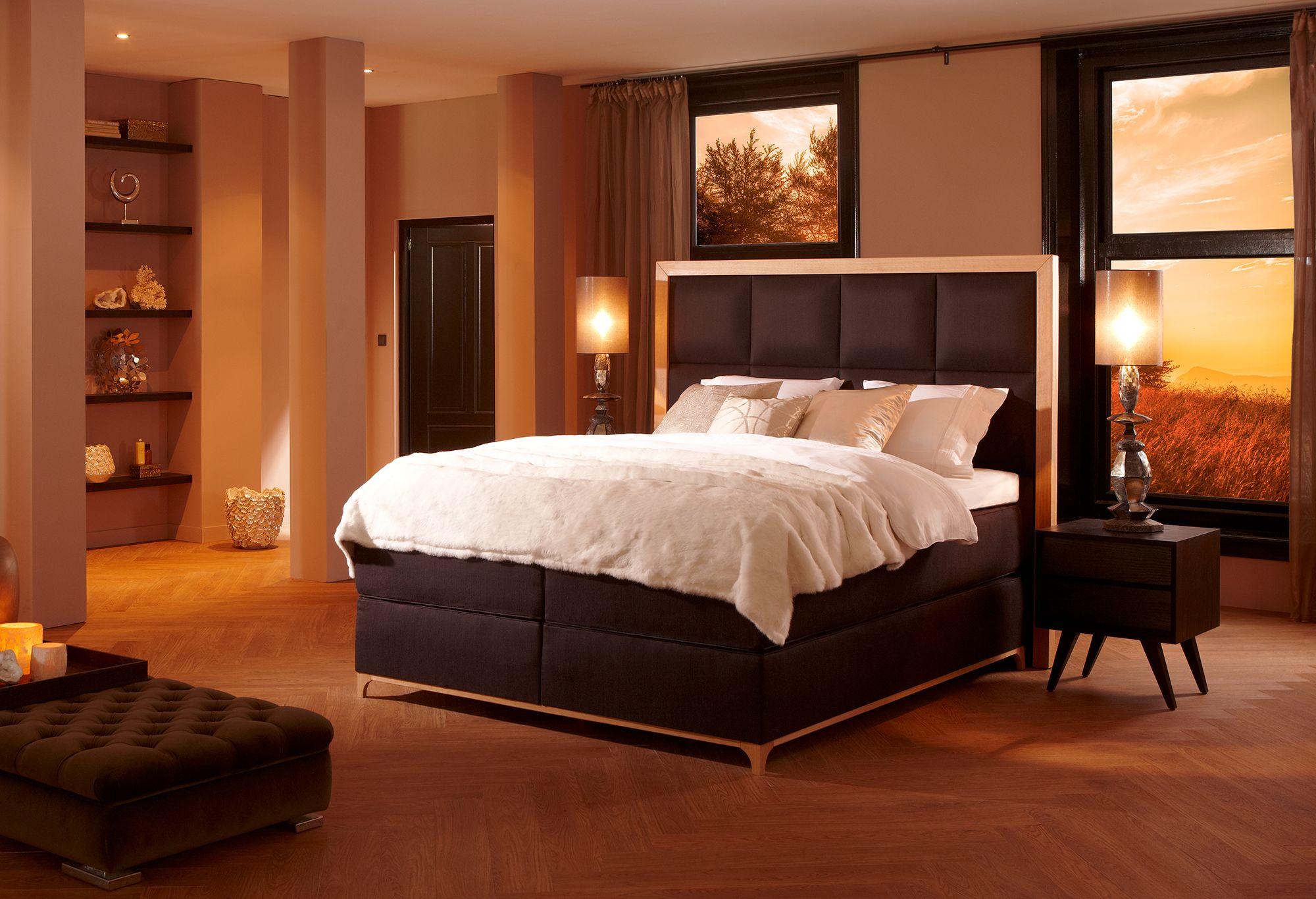 Boxspring diks ivoire boxsprings swiss sense home decor bed