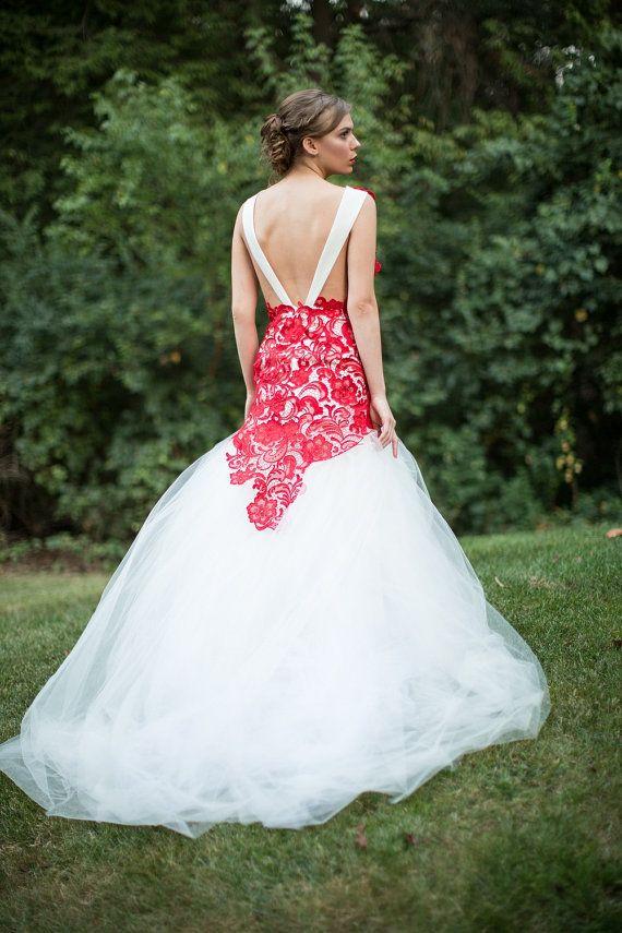 Ruby Dress by DesignerTrang on Etsy