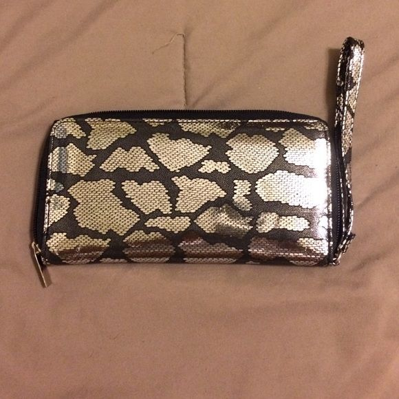 Clutch wallet Used once lots of card slots  $5 OBO Bags Clutches & Wristlets