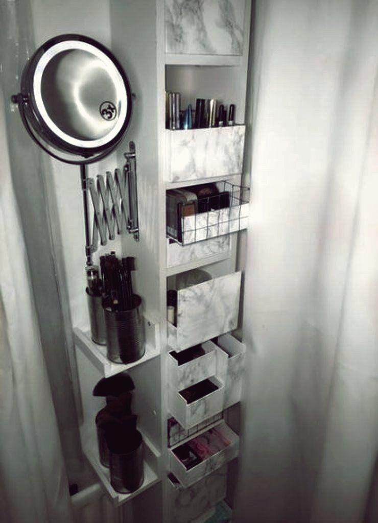 Dekoration & Garten 31 Pretty Chic DIY Makeup Storage-Ideen für eine preiswerte…