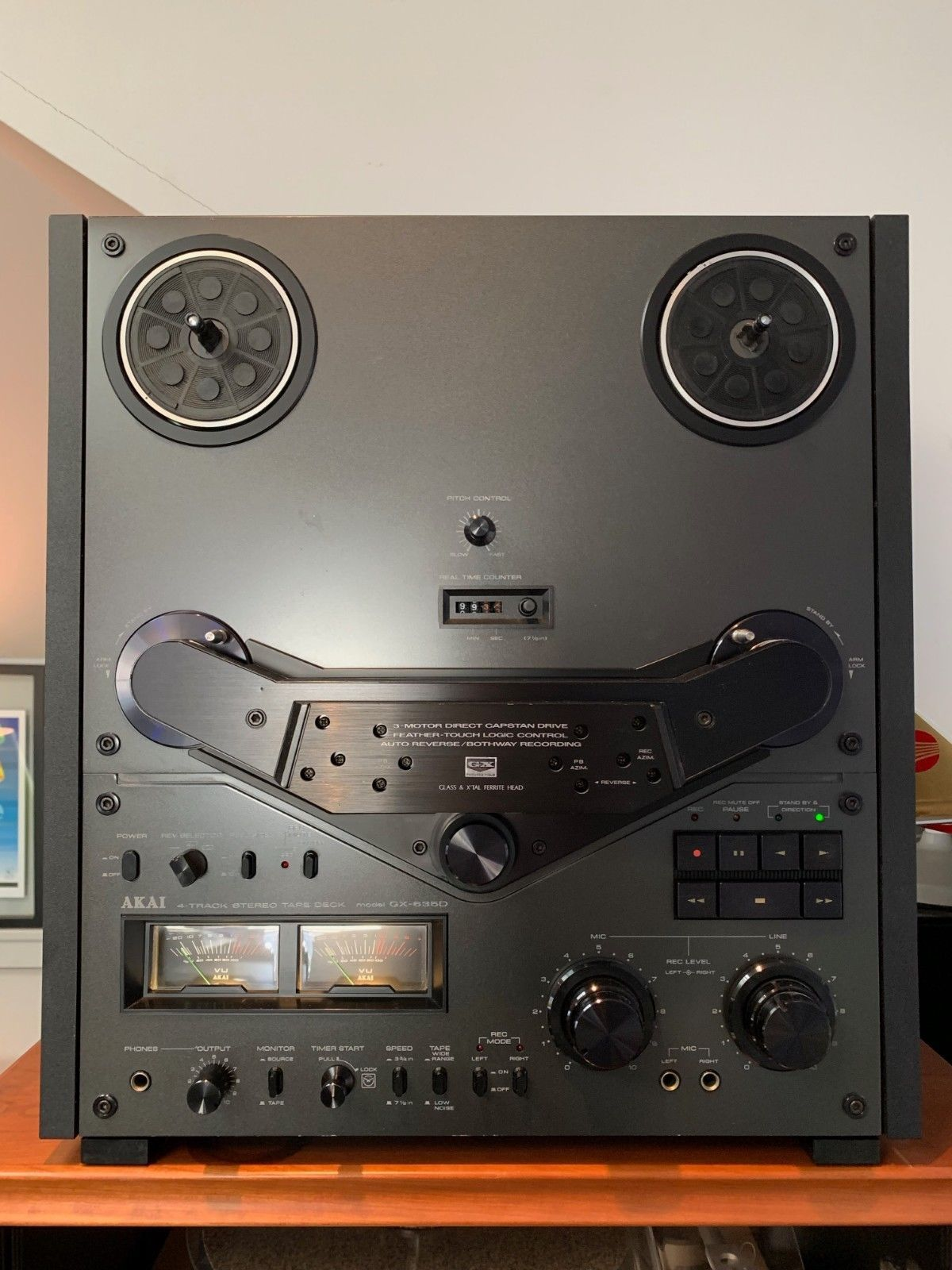 Akai GX-635D reel to reel VGC Serviced by Reel Pro Sound | eBay