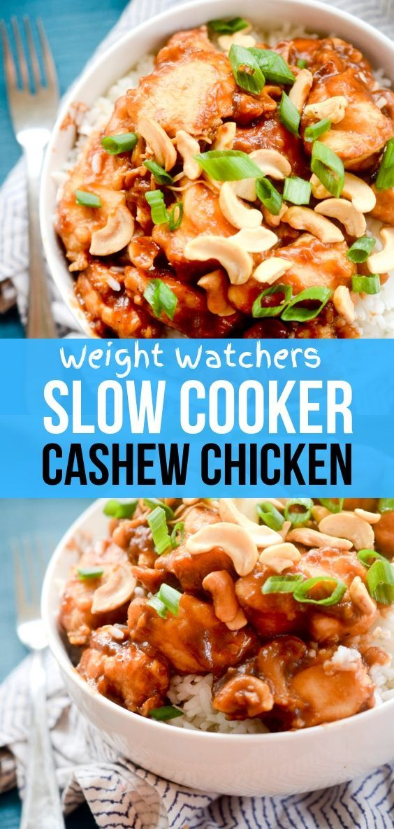 Photo of Weight Watchers Recipes | Slow Cooker Cashew Chicken