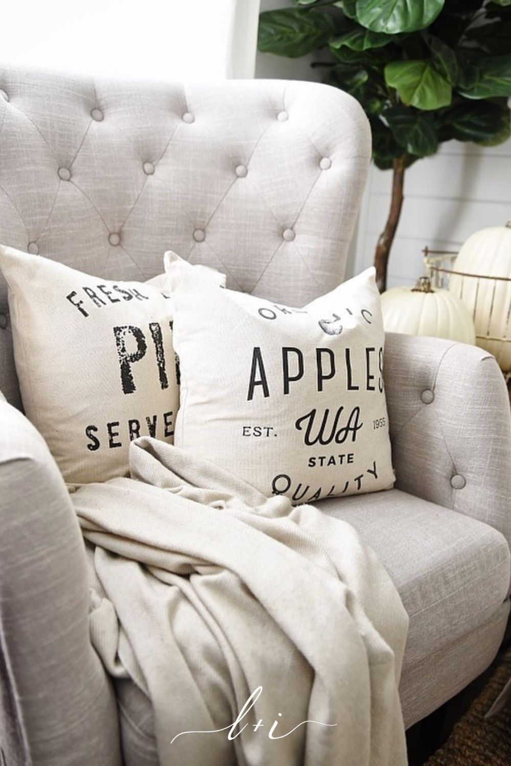 Rustic chic farmhouse pillows the make