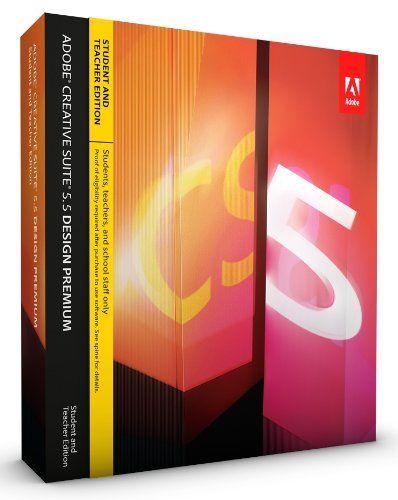 Adobe dreamweaver cs5.5 student and teacher edition good price
