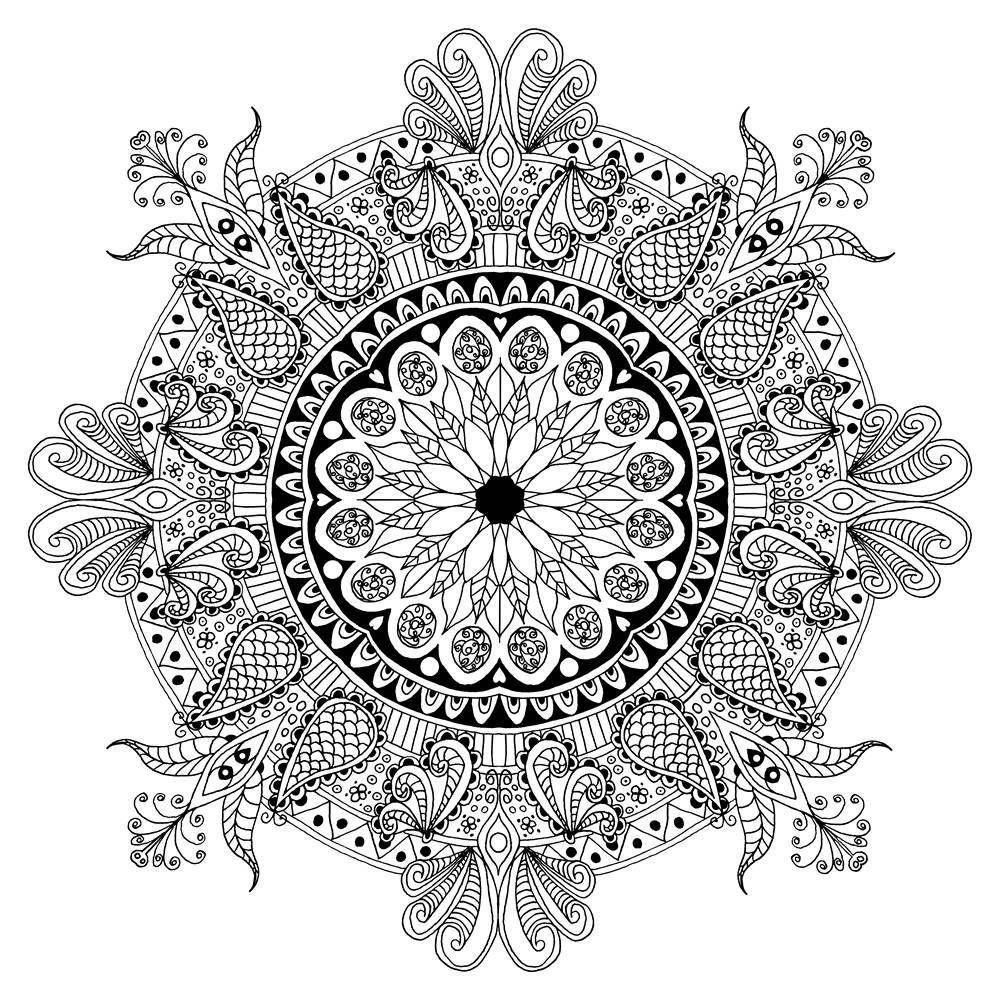 Icolor Mandalas Mandala Coloring Pages Mandala Coloring Coloring Pages
