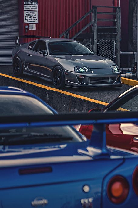 Well A Combo Though Nissan Skyline GTR R34 Facing Toyota Supra MKIV  Www.asautoparts.