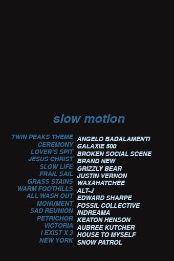 Fanmix slow motion