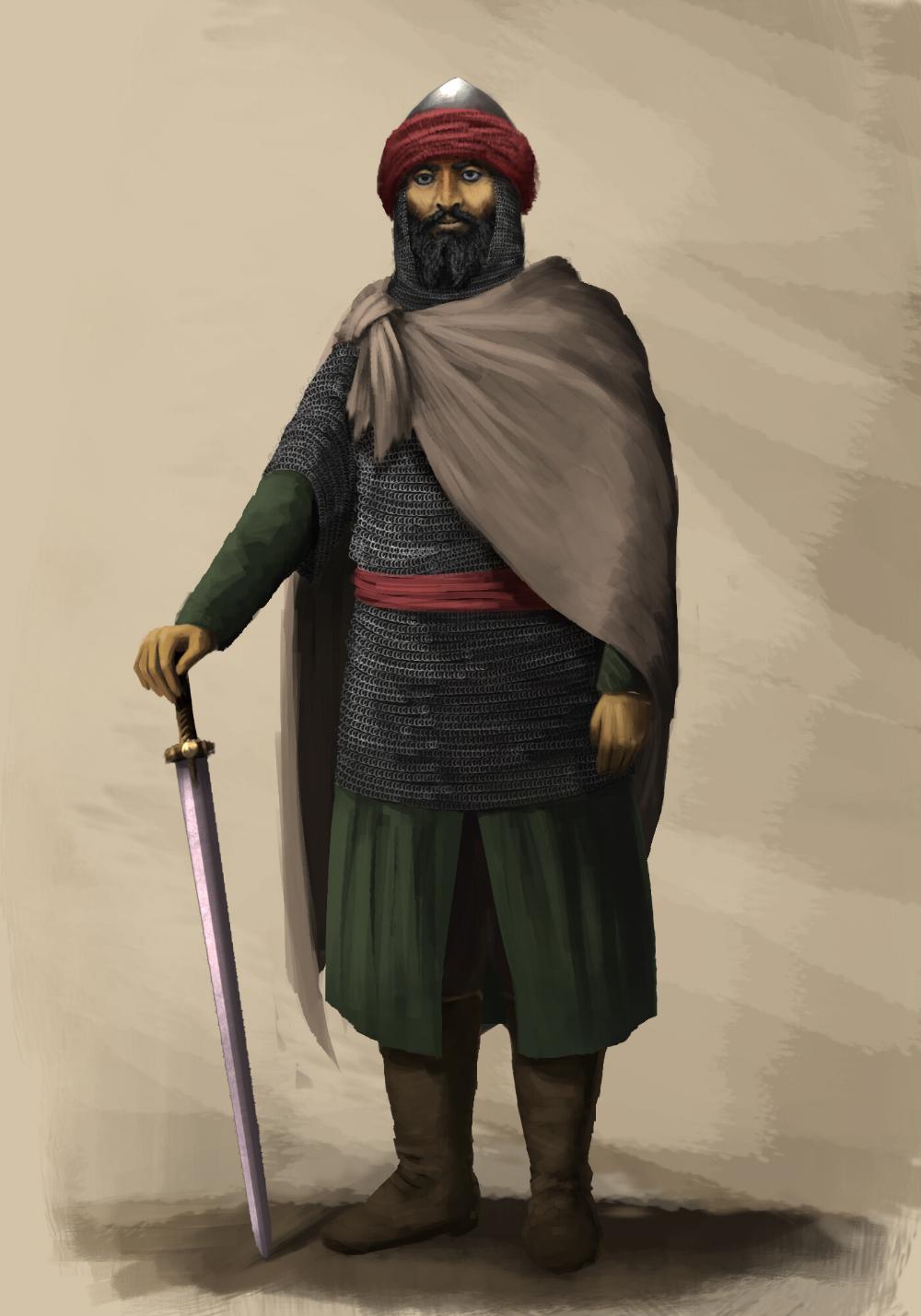 Khalid Ibn Al-walid : khalid, al-walid, ArtStation, Khalid, Walid,, Marwan, Pejuang,, Gambar,