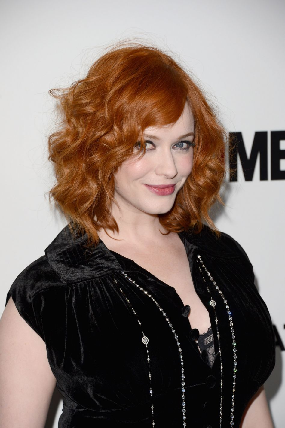 Christina Hendricks at Mad Men Season 6 premiere in Los