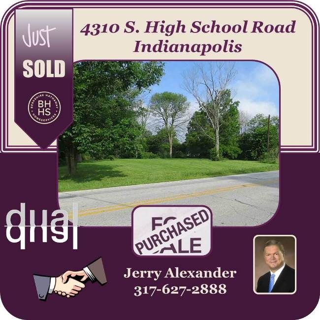 Good to know. Jerry just sold this beautiful property in Indianapolis.