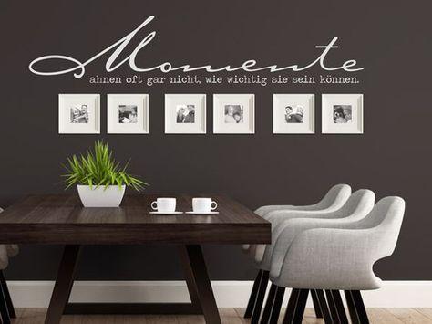 wandtattoos mit bilderrahmen kombiniert bilder. Black Bedroom Furniture Sets. Home Design Ideas