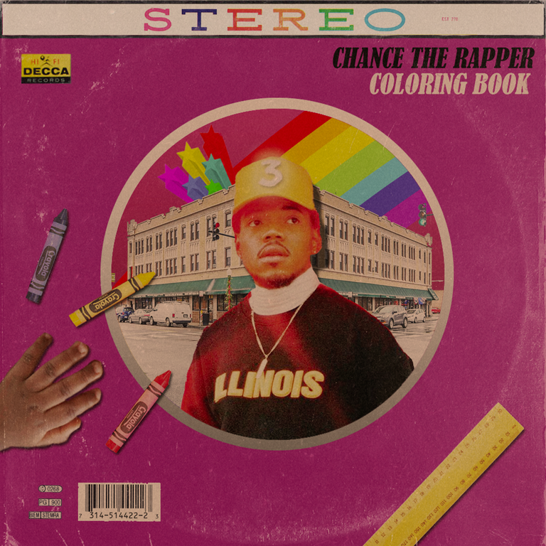 Chance The Rapper Coloring Book Freshalbumart Chance The Rapper Coloring Books Coloring Book Chance
