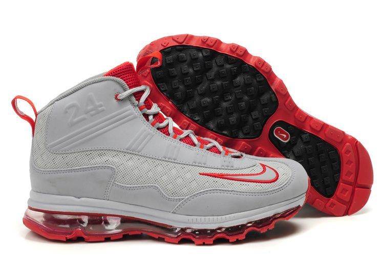 bf7f83a28b ken-griffey-nike-air-max-jr-gray-red-sneaker-online | Sneakerhead ...