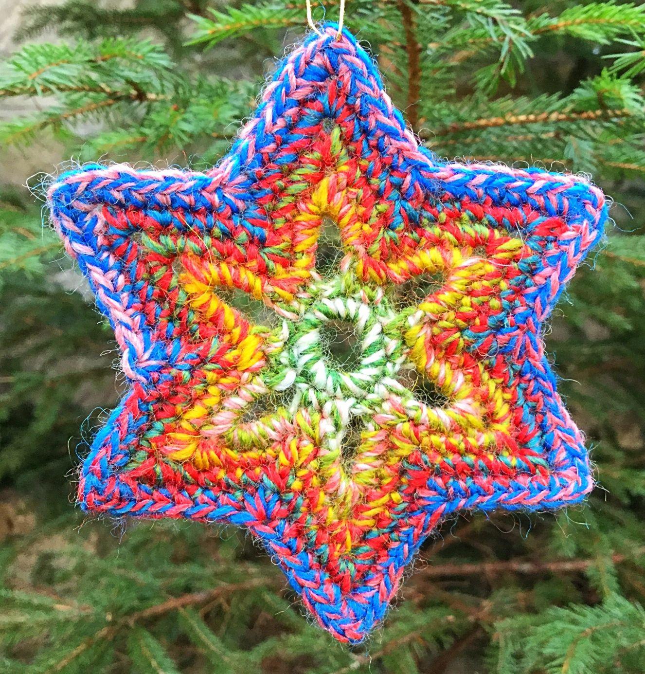Bethlehem Star – Stern von Bethlehem – Grassharpstitches