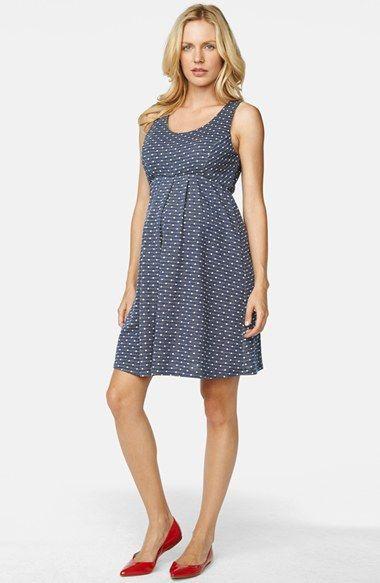 Maternal america denim dress