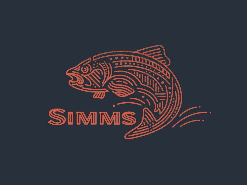 Simms Fishing Products by Kevin Kroneberger #Design Popular #Dribbble #shots