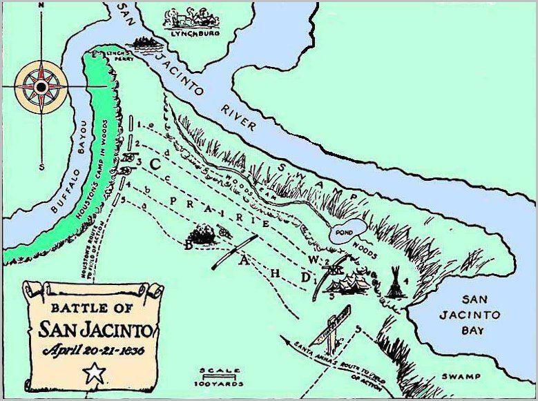 Map Of Texas 1835.San Jacinto Texas 1835 Map Google Search Genealogy San