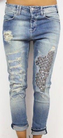 f08bf3c853 jeans - MET Jeans Con Bordados