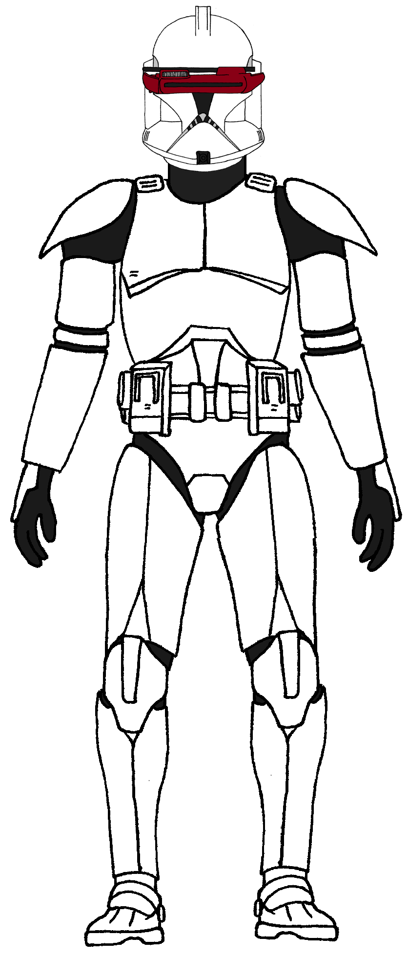 Clone Trooper Phase 1 with Electrobinoculars Star wars