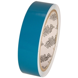 Tape Planet 3 Mil 1 X 10 Yard Roll Teal Outdoor Vinyl Tape Vinyl Teal Acrylic Adhesive