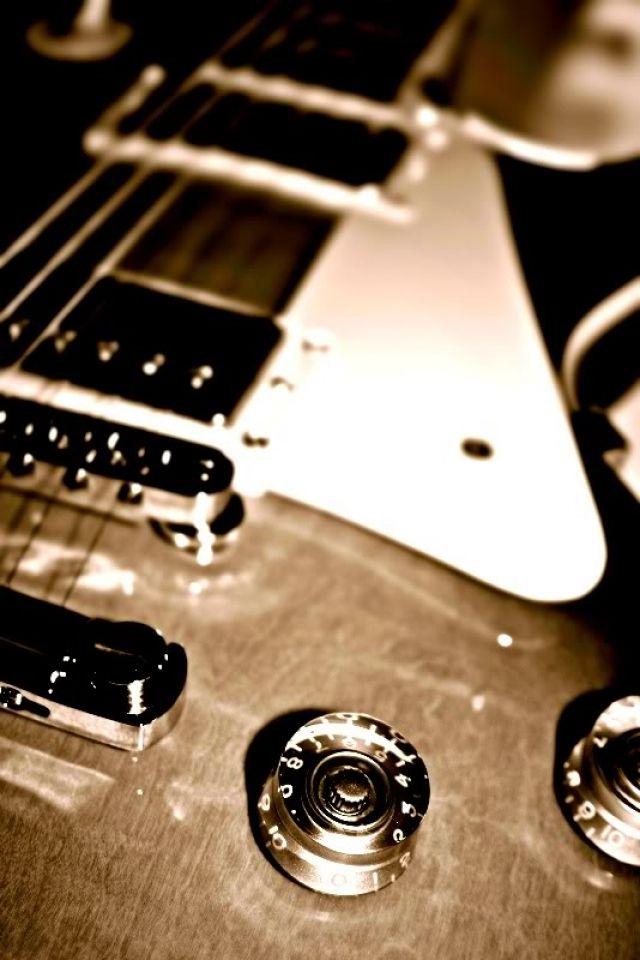 Iphone S C Guitar Wallpapers Hd Desktop Backgrounds 640 960