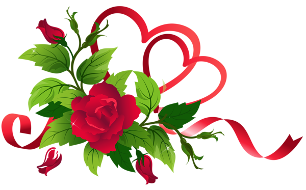 Transparent Hearts and Roses Decor | Hearts and roses, Paper flower arrangements, Flower art