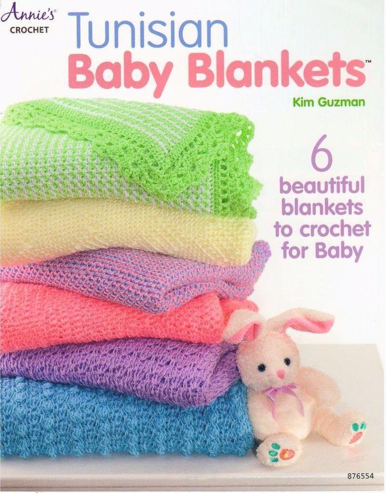 Tunisian Baby Blankets Annie\'s Crochet Pattern Booklet | Pinterest