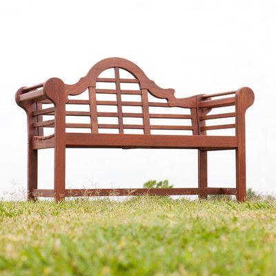Wildon Home ® Stetson Oiled Hardwood Bench