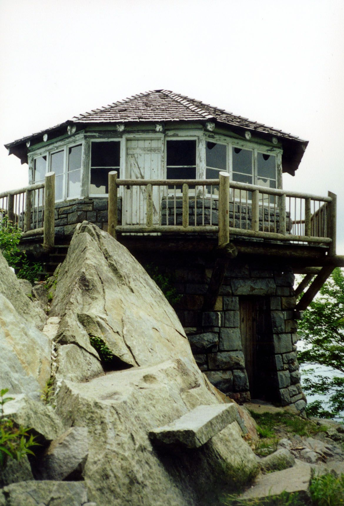 Where we got engaged favorite places spaces for Fire tower cabin plans