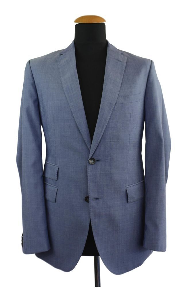 online retailer 7811f 3ebe0 Dettagli su Hugo Boss Jacobs/Lenon tg. 46 Casual Giacca Blu ...