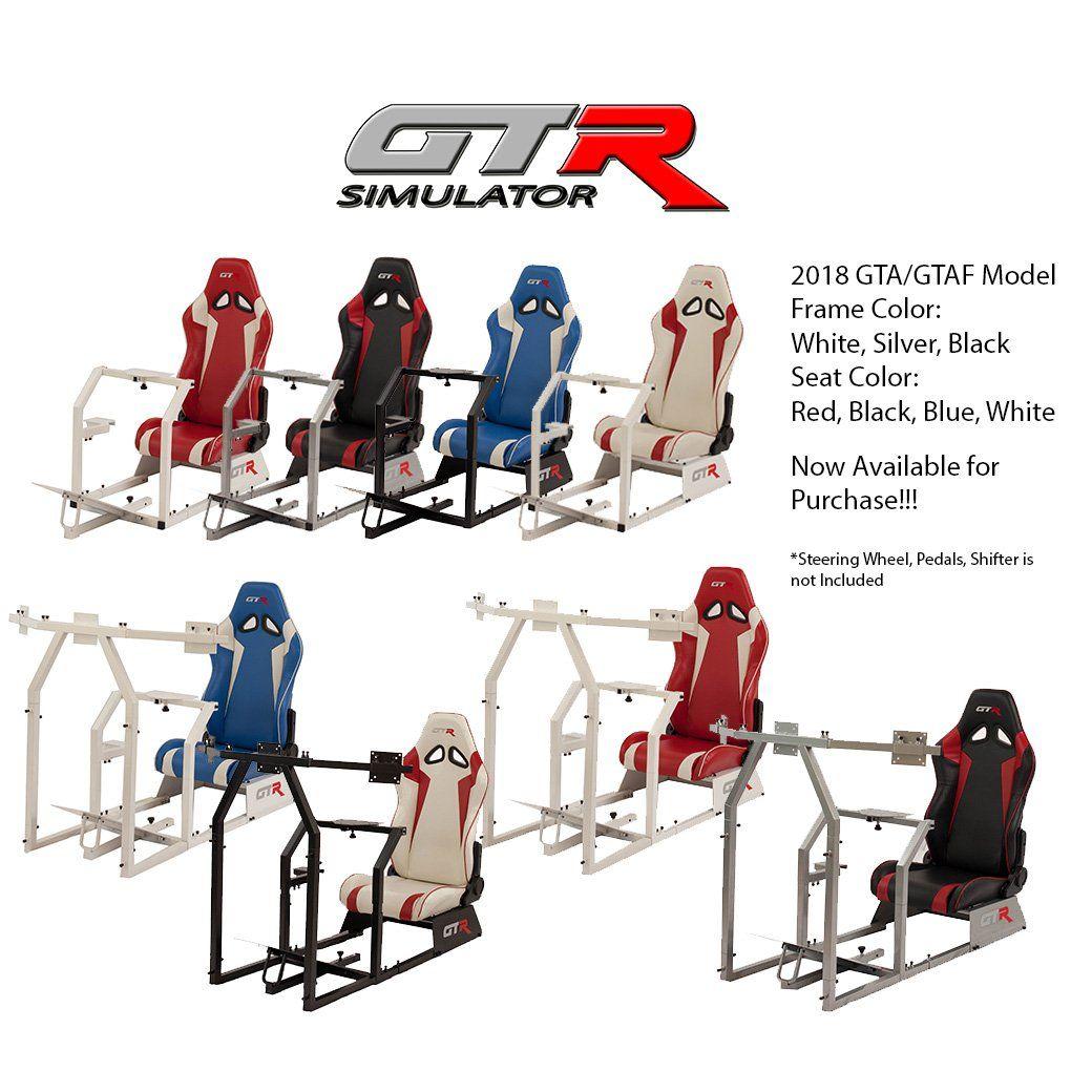 GTR Simulator GTASS105LBKRD GTA Model Silver Frame with