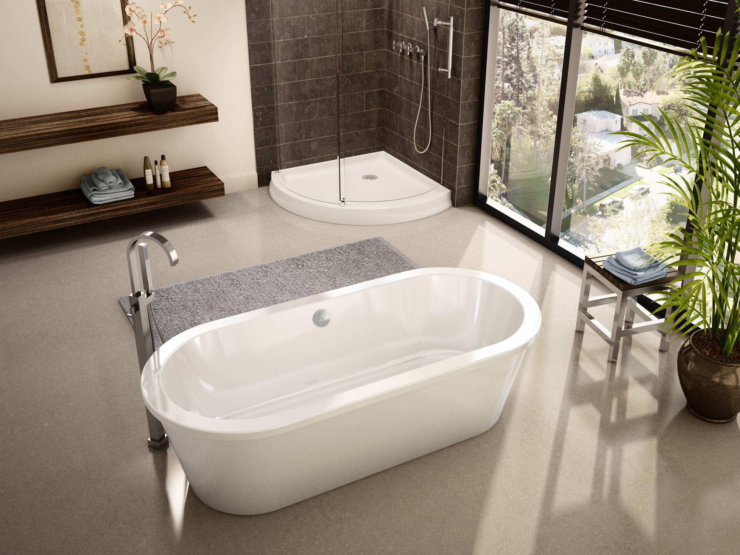 FLEURCO Bathtub TRANQUILITY. Two differents sizes | Timeless ...