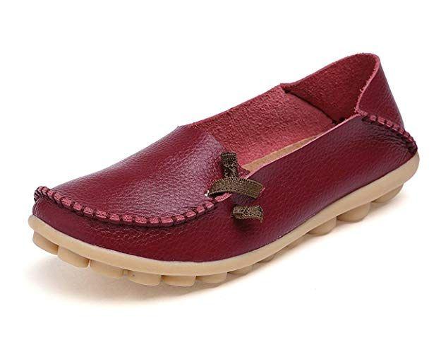 fb6fa2fcd38 NAN- SECOND CHOICE- VenusCelia Women s Comfort Walking Cute Flat Loafer(9  B(M) US