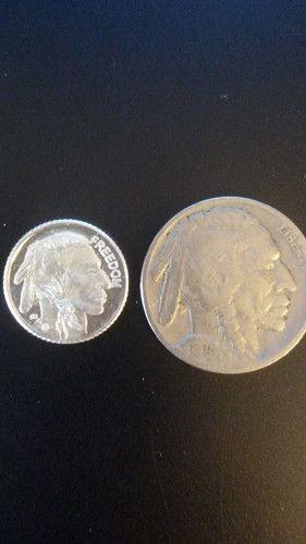 1 Gram 999 Fine Silver Buffalo Round 1926 Buffalo Tophatter Silver Bullion Coins Silver Coins Gold Money