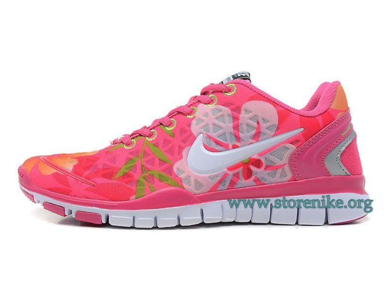 size 40 5b1c4 9229f ... discount nike free tr fit 5.0 breathe chaussure de course a pied pour femme  rose blanc